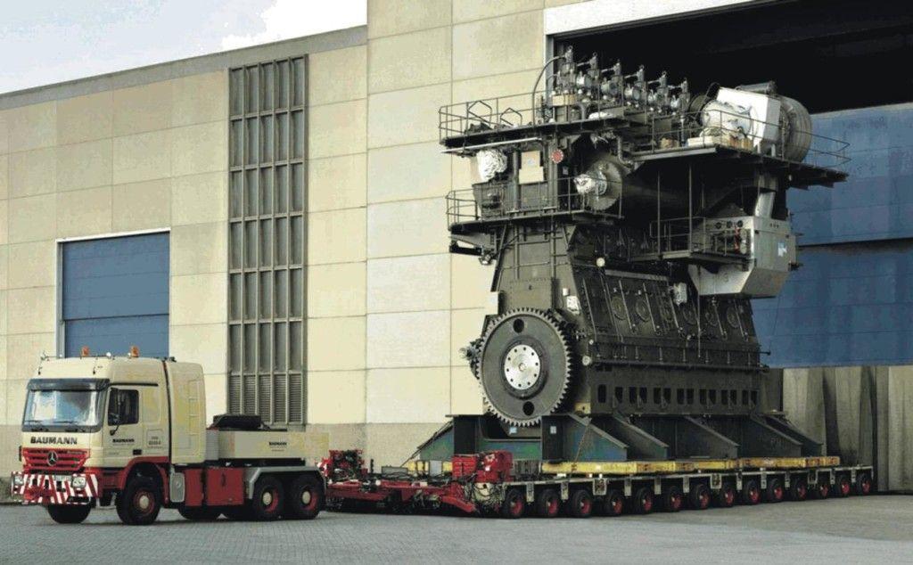 Области применения дизельных двигателей